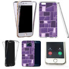 360° Silicone gel shockproof case cover for most mobiles -design ref zq037 clear