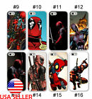 DeadPool X-men Superhero IPhone 11 Pro XS 7 8 Plus Phone case Silicone Anime #2