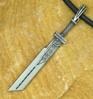 Final Fantasy 7 VII Cloud Strife BUSTER SWORD FF7 FF VII FFVII pewter pendant