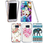 Shockproof 360° Silicone Clear Case Cover For Many Mobiles - Various Designs