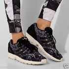 adidas Originals Womens ZX Flux X The Farm Company Trainers Core Black/White