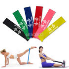 Resistance Elastic Band Exercise Yoga Belt Rubber Fitness Training Stretch Sport image