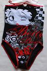 Girls Swimming Costume BETTY BOOP Swimsuit Swimwear Retro Black Kids Age 7-12 £7.99 GBP