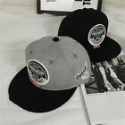Men Women New Black Baseball Cap Snapback Hat Hip-Hop Adjustable Bboy Cap Letter