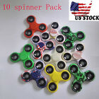 Wholesale Lot 50x 20x 10x Fidget Tri Spinner Finger Toy Focus Hand Mix Color