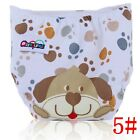 Newborn Kids Infant Reusable Washable Cloth Diapers Baby Nappy Adjustable