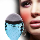 Kabuki Makeup Brush Face Powder Foundation Blush Contour Mermaid Cosmetic Tool