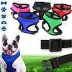 Comfort Control Dog Walking Harness Support Mesh Padded Vest Collar Lightweight