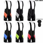 DBXGear Compression Mens Performance Cycling Bib Shorts Anti-Bac Padded Comfort