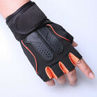 Workout Long Wrist Strap Men Weight Lifting Gym Training Gloves Fitness Exercise