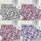 UK Flag Black Red Lilac Union Jack Great British Duvet Cover Bedding Pillow Case