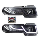 Design FIT Toyota FJ Cruiser 2007-14 Led Halo Projector Headlights With Grille