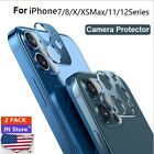 Iphone 7 & 7 and Metal Rear Camera Lens Protector Ring Cover *** US Seller***
