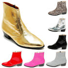 Epicsnob Mens Shoes Korea Genuine Cow Leather Dress Zipper Ankle Boots Booties