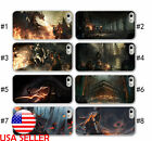 IPhone 6 7 7 Plus Phone Silicone Soft case TPU Dark Soul 3 Anime Video game #1