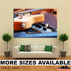 A Wall Art Canvas Picture Print - Electric Guitar Close-up Rock Concert 3.2