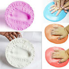 Super Soft Air Drying Clay Baby Handprint Footprint Imprint Kit Casting Print