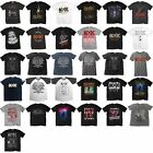 Various AC/DC Short Sleeve T-Shirts Official Licensed Rock Classic Band Album