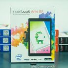 """NEW SEALED Nextbook Ares 8A with WiFi 8"""" Tablet PC Android 6.0 BLACK RED BLUE"""