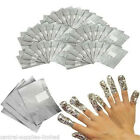 Nail Art Soak Off Remover Gel Polish Acrylic Removal Foil Wraps Pads Easy Use