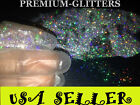 Silver Holographic Extra Fine 0.008 Glitters Powder Dust Nail Art Holo Loose Lot