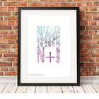 N+1 ❤ CYCLING ❤ poster art Limited Edition Print in 5 sizes #28
