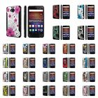 Huawei Ascend XT [AT&T GoPhone H1611] Dual Armor ShockProof Case  Design [D]