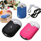 USB Rechargeable Mini Portable Pocket Fan Cooling Air HandHeld Travel Cooler Fan