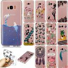 New Slim Clear Soft Silicone TPU Rubber Gel Back Case Cover For Samsung Phone