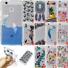 New Slim Clear Soft Silicone TPU Rubber Gel Back Case Cover For Huawei LG Phone