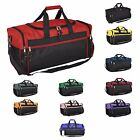 "DALIX 20"" Duffel Bag Sports Gym Carry Travel Bag Blue Gray Pink Purple Red Black"