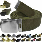 Military Web Belt 100% Cotton Camo Solid Digital Army Web Belts