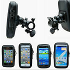 Black Waterproof Bike Bicycle Motorcycle Phone Case Bag Handlebar Mount Holder