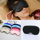NEW Pure Silk Sleeping Aid Eye Mask Cover Shade Travel Relax Blindfold Eye Patch