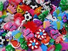100Pcs Charms for Rainbow Loom Rubber Bands DIY Bracelet Making Crafts
