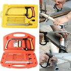 Universal 11-in-1 Hand Saw Kit Working Wood Glass Steel Cutting Tools+Extra Saw