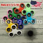 1/3/5/10 Pack Tri Spinner Fidget Hand Spinners Figet Desk Toy Focus ADHD ☆USA☆