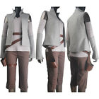 Star Wars: The Last Jedi Rey cosplay costume outfit jacket pants shirt holster