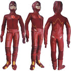 Kids Boys The Flash Season 4 cosplay Barry Allen Flash halloween costume toys