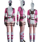 Women Deadpool Gwenpool The Unbelievable Cosplay Halloween Costume outfit