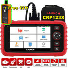 LAUNCH X431 CRP123 OBD2 Engine Transmission ABS SRS Diagnostic Tool Auto Scanner