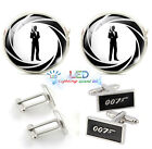007 James Bond Pattern Mens Classical Cuff-links £3.39 GBP