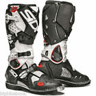 Sidi Crossfire 2 Off-Road MX Boots - White - Black size 43 uk9 F49