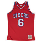 Julius Erving Philadelphia 76ers Mitchell & Ness NBA Throwback HWC Jersey - Red on eBay
