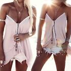 Kyпить Fashion Women Summer Vest Top Sleeveless Shirt Blouse Casual Tank Tops T-Shirt на еВаy.соm