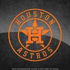 "Houston Astros Logo Vinyl Decal Sticker - 4"" and Larger Sizes Available MLB"