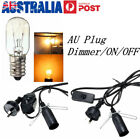 AU SWITCH CORD DIMMER ON/OFF BULB HIMALAYAN NIGHT LIGHT SALT LAMP REPLACEMENT