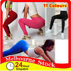 Womens Girl Running Yoga Fitness Leggings Gym Sports Pants Trousers Clothes