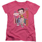 Betty Boop Cartoon Character Icon Viva Las Vegas Pin-Up Women's T-Shirt Tee $29.13 CAD on eBay