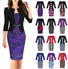 New Women's Office Bodycon Pencil Dress Evening Party Cocktail Dress Lot Styles